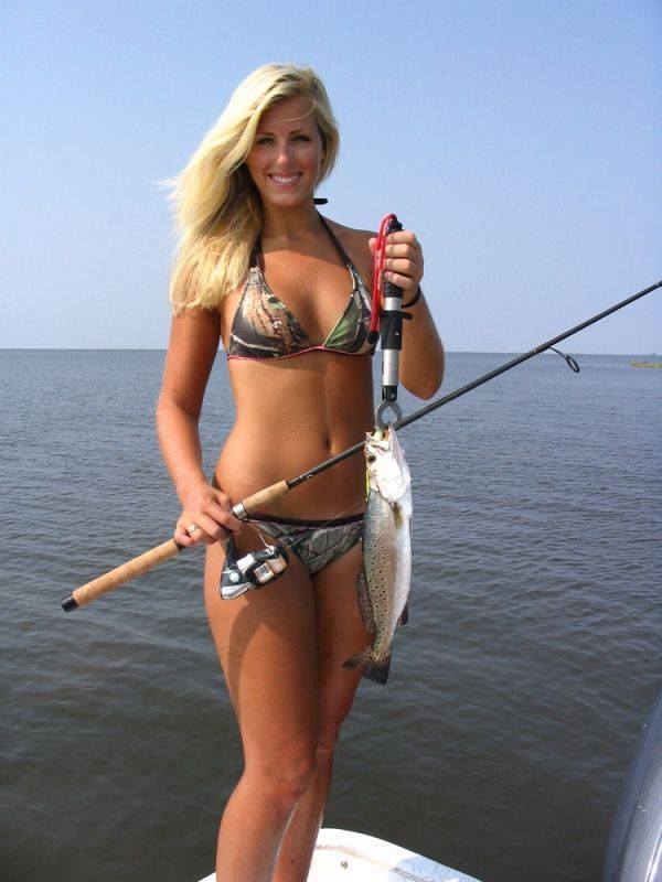 Possible Hot fishing women super agree