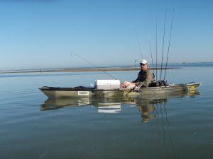 Strike three kayak fishing a perspective capmel for Fishing kayak under 300
