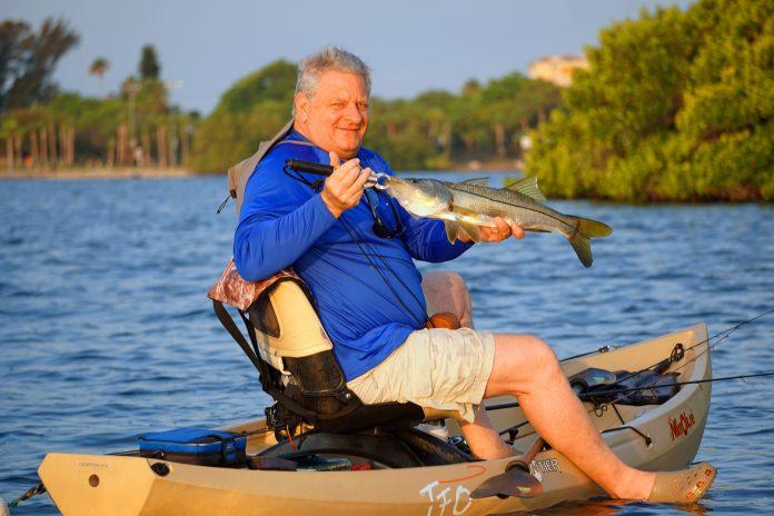 Sarasota kayak steve gibson capmel for Tenoroc fish management area